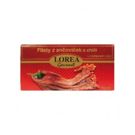 Filety z ančoviček s chilli LOREA Gourmet 50/30g