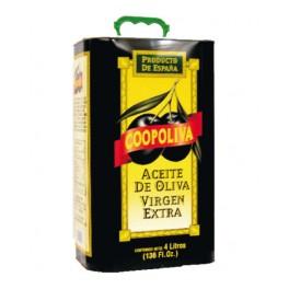 Extra virgin olivový olej Coopoliva 4 l